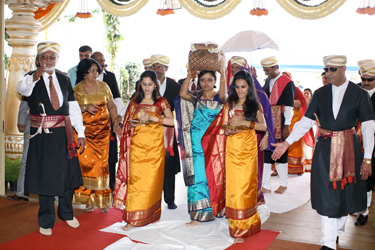 Coorg Wedding day march